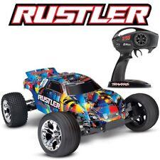 NEW Traxxas 37054-4 Rustler XL-5 1/10 2WD RC Stadium Truck Rock-N-Roll Edition