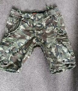 Men's Superdry cargo shorts 34