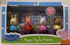 Peppa Pig And Friends 4 Figure Set Rebecca Peppa Suzy Pedro
