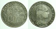 pci0297) Napoli regno Ferdinando IV grana 120 piastra 1795 NC