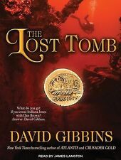 The Lost Tomb by David Gibbins Compact Disc Book (English) Free Shipping NEW