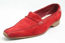 Esprit Slipper rot Leder Gr. 38 (UK 5)