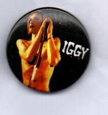 IGGY POP  BUTTON BADGE PUNK CLASSIC ROCK THE STOOGES - LUST FOR LIFE 25mm PIN