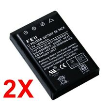 FEII 1800 mAh Ploymer Battery for Aiptek Camera Camcorder (Twin Pack)