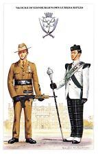 Postcard The British Army Series No.56 7th Duke of Edinburgh's Own Gurkha Rifles