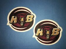 Rare 2 Lot Hershey Bears AHL Hockey Jersey Shoulder Patches Crests C
