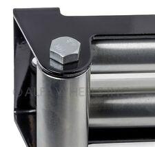 "Super Heavy Duty Winch Roller Fairlead f Steel Cable- 10"" Bolt Pattern"