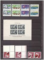 s15052) SPACE 1944/63  MNH** URSS RUSSIA 14v + S/S (S/S with CREASE UP LEFT))