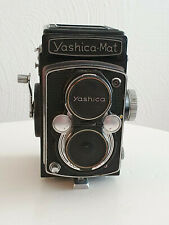 Yashica Mat TLR camera 6x6 in original leather carrying case