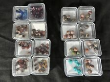 16 Packs Gick Crafts Beads Semi Precious Stones Various Colors Sizes Shapes
