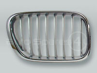 Chrome/Titan Front Hood Grille RIGHT fits 2000-2003 BMW X5 E53