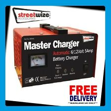 HEAVY DUTY METAL CASED 6/12VOLT 5 AMP BATTERY CHARGER SW5MC