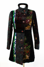 101 idees Cappotto Taglia M/38 Cotone Patchwork transitorio CAPPOTTO COAT