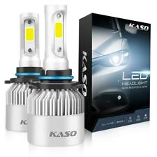 KASO HB4 9006 6500K LED Headlight Light Bulbs replace Halogen
