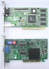2 SCHEDE VIDEO ATI - 8MB AGP - RAGE MOBILITY P/M AGP2X - RAGE iiC PN 109-52800-0