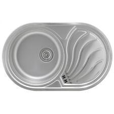 Markenlose für Bad & Küche Spülen | eBay | {Spülbecken edelstahl eckig 85}