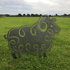 Sheep Garden Art