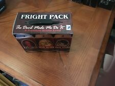 """FRIGHT PACK """"THE DEVIL MADE ME DO IT"""" 6 PREMIUM HORROR DVD FILMS COLLECTION"""