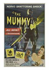 The Mummy #2 - Vintage Horror Film/Movie Poster 11x17 inches