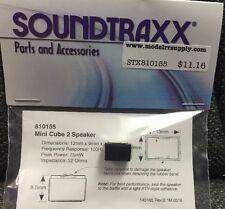 Soundtraxx 810155   Mini Cube2  32 Ohm Speaker with enclosure  MODELRRSUPPLY-com