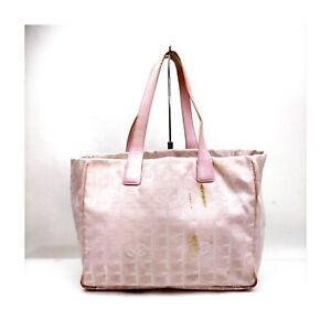 Chanel Tote Bag  Pinks Nylon 2207449