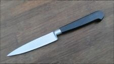 Vintage Sabatier Carbon Steel Chef's Large Nogent-style Paring Knife RAZOR SHARP