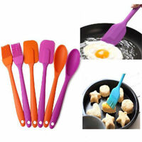 3Pc Silicone Spatula Scraper Baking Cooking Mixer Kitchen Utensil Tool Cake Tool