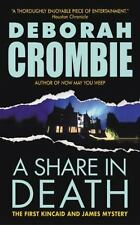 A Share in Death (Duncan Kincaid/Gemma James Novels) by Crombie, Deborah b65