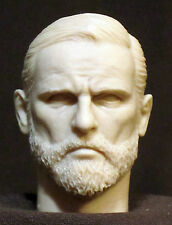 "Tête sculptée. Custom resin head sculpt 12"".  Figurines échelle  1:6.  V-91"