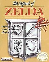 The Legend of Zelda (Nintendo Entertainment System, 1987) - Pre-owned