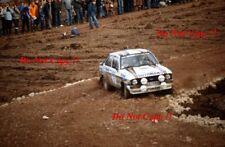 ARI VATANEN & David Richards FORD ESCORT RS1800 RAC Rally 1981 fotografia 2