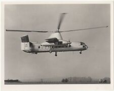 Fairey Rotodyne Helicopter Prototype Vertical Take Off Airliner Photo, AX800