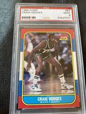 1986 - 1987 Fleer Craig Hodges PSA 9