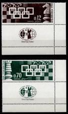 Schach-Olympiade. 2W. Tab.+ Eckrand. Israel 1964