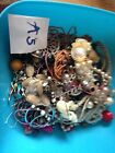 Junk Jewellery Crafting Upcycling 1.8kg Broken Salvage Beads Necklaces Bangles