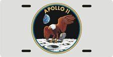 Apollo 11 NASA Moon Landing eagle logo License plate