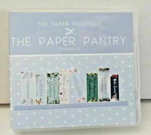 The Paper Boutique Paper Pantry Collections Vol Iii USB