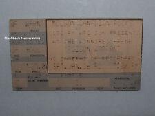 POISON / WARRANT Concert Ticket Stub 1991 WINNIPEG ARENA MANITOBA CANADA Rare