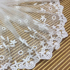 Polyester Silk Lace Trim  Trim Strap Sewing Dress Curtain Clothing 30cm wide