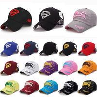 Herren Damen Aufdruck Basecap Hip Hop Tennis Trucker Sonnen Hüte Baseball Kappe