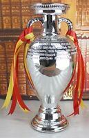 UEFA European Henri Delaunay Championship Large Trophy Cup Replica Statue