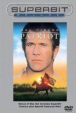 The Patriot (DVD, 2002, 2-Disc Set, Superbit Deluxe) Mel Gibson/Heath Ledger!