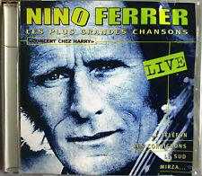 "NINO FERRER - CD CANADA ""CONCERT CHEZ HARRY"" (LES PLUS GRANDES CHANSONS ""LIVE"")"