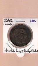BELGIE 10 CENTIMES 1853 HUWELIJK LEOPOLD I HERTOG VAN BRABANT
