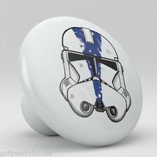 Star wars Stormtrooper Collection Ceramic Knobs Pulls Kitchen Drawer Dresser 974