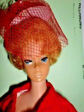 Vintage Barbie BUBBLE- CUT mit Kleidung ( RED FLAIR) Vintage