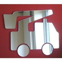Shatterproof Acrylic CHERRY PICKER TRUCK Mirror 12-45cm