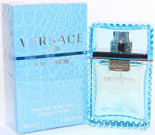 Versace Man Eau Fraiche by Versace for Men 1.0 oz EDT Spray Brand New In Box