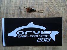 Orvis Authentic Fly Fishing Carp-Ocalypse 2013 sticker