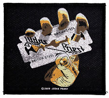 JUDAS PRIEST - Patch Aufnäher - british steel - neu